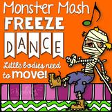 Halloween Freeze Dance - Monster Mash {Brain Break}