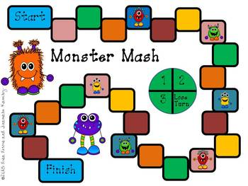 Monster Mash Math Game{A Comparing and Ordering Numbers Game}