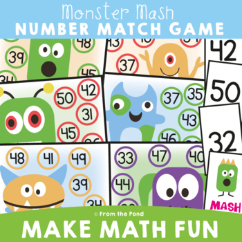 Number Game - Monster Mash