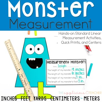 Measurement Activities: Inches, Feet, Centimeters, and Meters