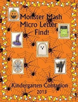 Monster Mash Micro Letter Find! (Complete set)