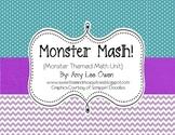 Monster Mash (Monster Themed Math Fun)