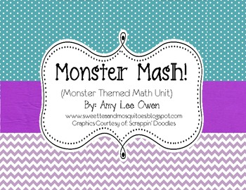 Monster Mash (Monster Themed Math Fun)