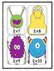 Monster Mash Multiplication BANG! {Fluency Game}