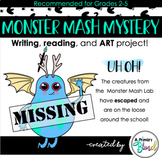 Monster Mash Mystery | Descriptive Writing, Art, and Close Reading!