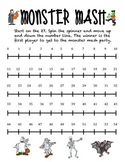 Monster Mash Number Line Game