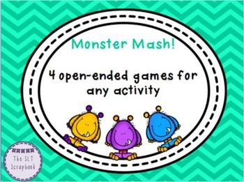Open-Ended Games- Monster Themed