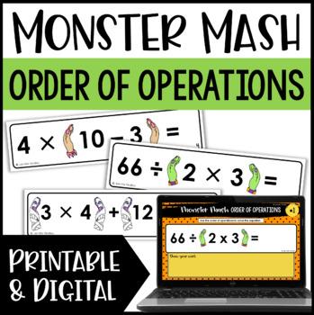 Order Of Operations Activities | Teachers Pay Teachers