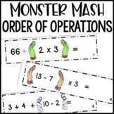 Order of Operations Math Activities | Monster Mash