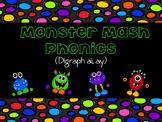 Monster Mash Phonics (Digraph ai and ay)