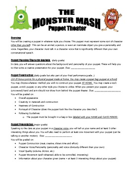 Monster Mash Puppet Unit