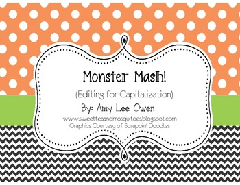 Monster Mash (Sentence Editing)