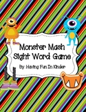 Monster Mash Sight Word Game - Fry's List