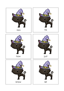 Monster Mash Sight Word Game {Halloween Theme}