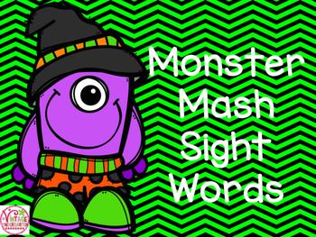 Monster Mash Sight Words