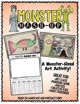 Monster Mash-Up!  An Art Activity
