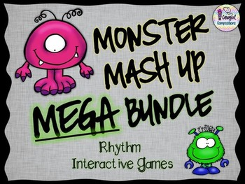 Monster Mash Up MEGA Bundle