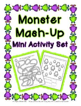 Monster Mash-Up Mini Activity Set