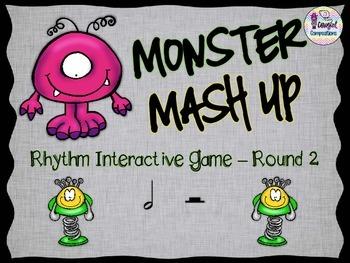 Monster Mash Up - Round 2 (Half Note/Half Rest)