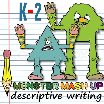 Monster Mash-Up: Writing Descriptive & Informative Sentences!