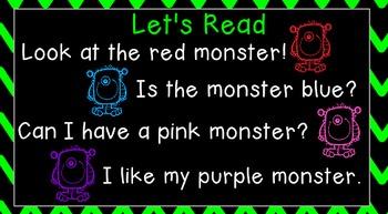 Monster Mash Whole Group Flipchart for Kindergarten