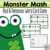 St. Patrick's Day:  Real & Nonsense Word Game