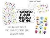 Monster Mash-Word families and Silent e Games
