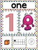 Numbers Posters 1-10 and Monster Match Memory Game