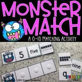Monster Match Math