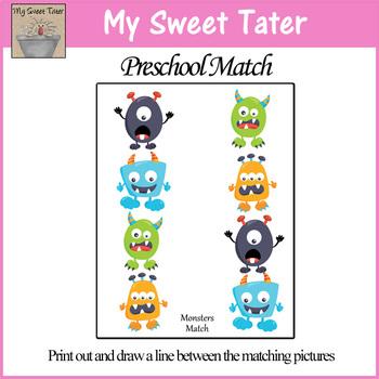 Monster Match Sheet
