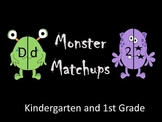 Monster Match-ups  (Matching upper to lower case letters a