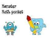 Monster Math-number review