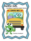 Monster Math - 2 Digit Addition & Subtraction without Regr