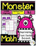 Monster Math- 2-Digit Subtraction