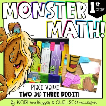 Monster Math - Place Value to 120