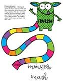 Monster Math- 3 Digit Word Problems