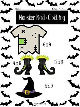 Monster Math *FREEBIE*