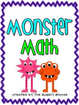 Monster Math~ 6 Centers