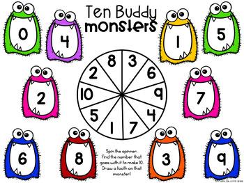 Monster Math! {6 math games}