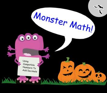 Monster Math (Adding Decimals)