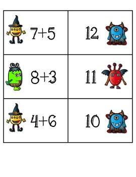 Monster Math Addition