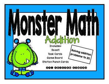 Monster Math Addition