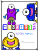 Monster Math Addition Fluency Digital Bundle
