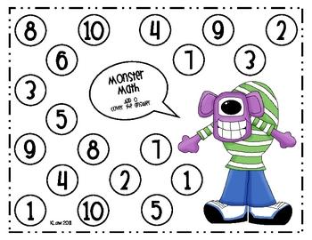 Monster Math Addition Games