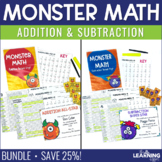 Fact Fluency Addition and Subtraction Timed Tests | BUNDLE