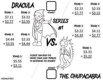 Monster Math Battle - Addition of Money