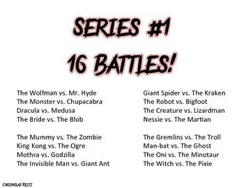 Monster Math Battle! - Division tables 1-12 - fact fluency