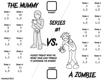 Monster Math Battles Freebie!