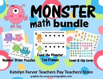Monster Math Bundle