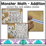 Monster Math Center: Sums to 20